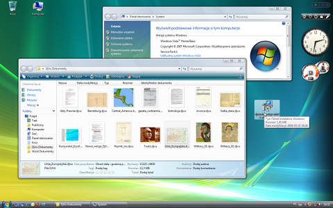 thumbnails and previews on Windows 7